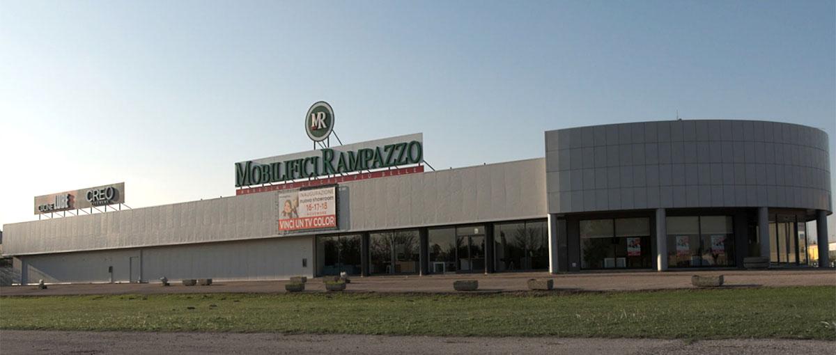 Rovigo Showroom punto vendita di Mobilifici Rampazzo