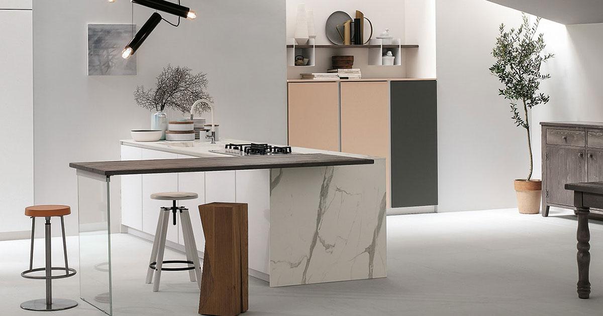 Top cucina pietra in marmo