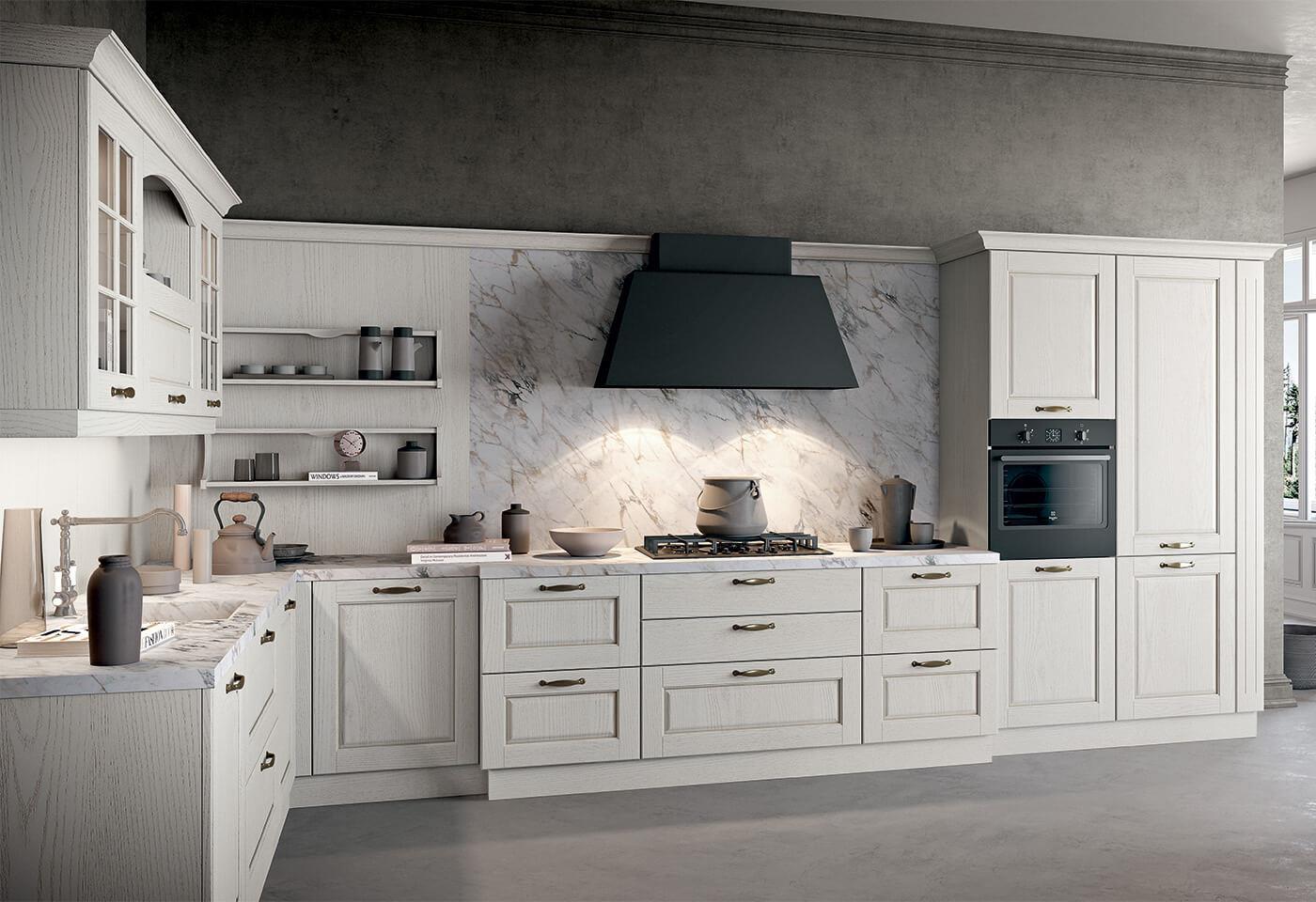 ASOLO - Arredo 3 - Cucina classica