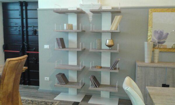 libreria ferro e legno
