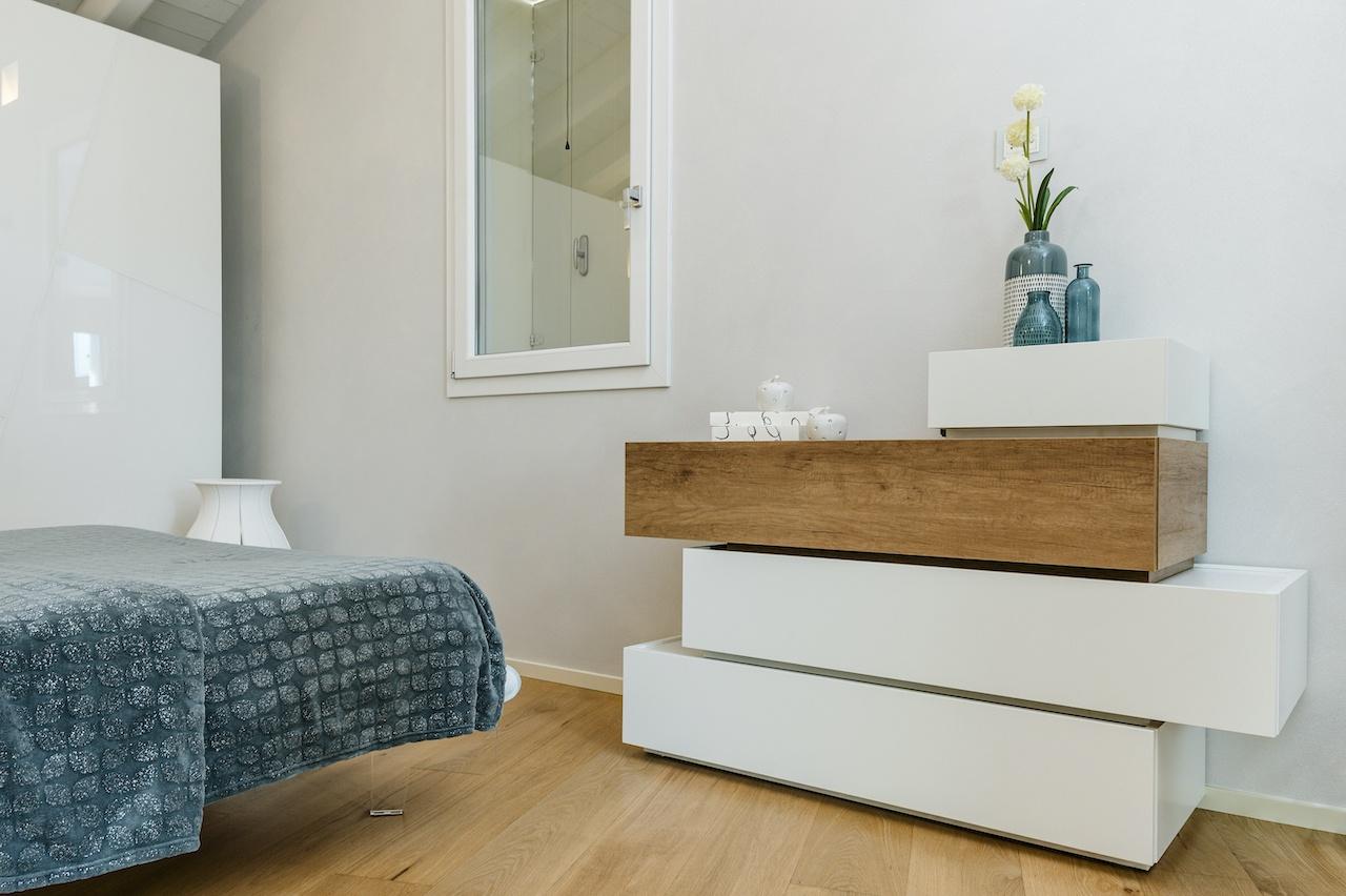 arredamento camera da letto - cassettiera