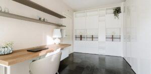 Come arredare una stanza studio e smart working - l'armadio